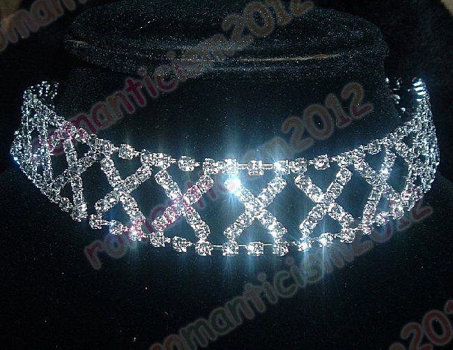 Austrian Rhinestone Crystal Clear Sexy Necklace