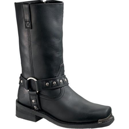 HARLEY DAVIDSON Mens Crawford MOTORCYCLE BOOTS 7M D95324