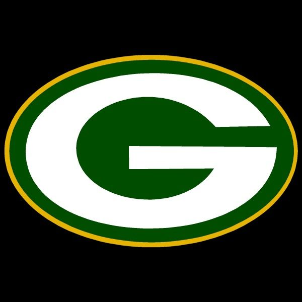 Green Bay Packers Text Script Auto Window Sticker Decal