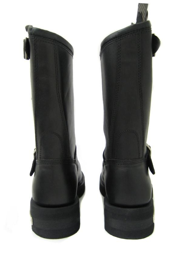 HARLEY DAVIDSON Mega Conductor STEEL TOE Black Leather Boots 91137